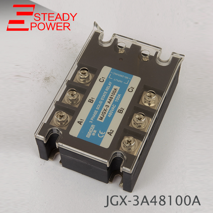 Three Phase Solid State Relay AC Control AC / DC Control AC 100A 120A SSR Series Relay Solid State free shipping 2pc 100a industrial single phase ac dc ac single phase solid state relay 100a zyg d48100 dc control ac 100a