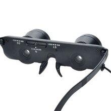 Fishing Optics Binoculars Telescope Magnification Eyeglass 1pc Portable 3×28 Magnifier Glasses
