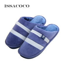 ISSACOCO Slippers Men Winter Cotton Mens Shoes Pantuflas Terlik Large Size Home Zapatos Hombre