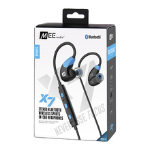 NEW ARRIVAL MEE audio X7 Stereo Bluetooth Wireless Sports In-ear Headphones Sweat-resistant Hands Free Phone Calls MP3 Earphones