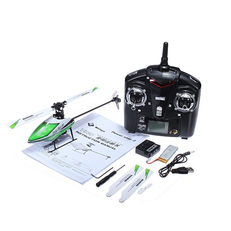 New Hot WLtoys V930 Power Star X2 4CH 6 Axis Gyro Brushless Flybarless RC Helicopter RTF Mode 2 Remote Control Toys Models