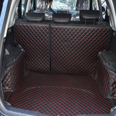 PU leather car trunk mats for Great Wall Haval H6 folded pad wholly surrounded by warehouse