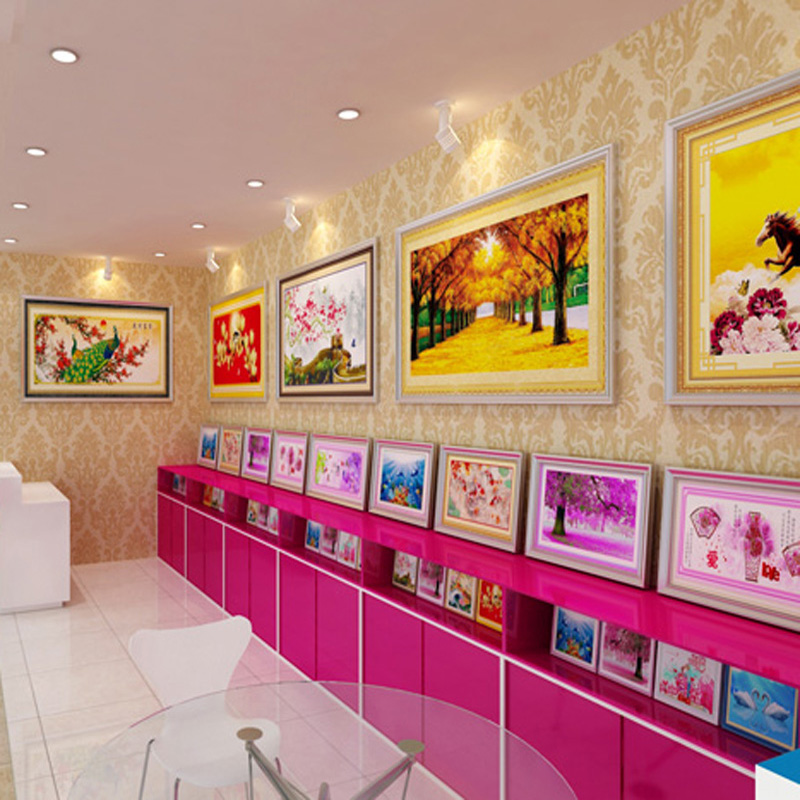 2-Farfalla Diamante Pittura Kit per bambini 15x15cm