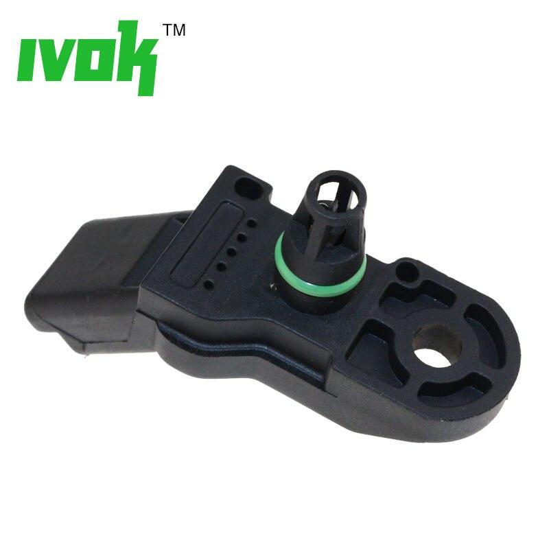 Image 4 - Manifold Boost Air Pressure MAP Sensor For Peugeot Citroen Fiat 1920AJ 9639381480 0261230043 4676.80 1920.AJ 4676 80 1920 AJ-in Pressure Sensor from Automobiles & Motorcycles