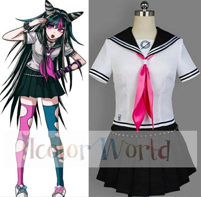 danganronpa 2 goodbye despair ibuki mioda cosplay costume in anime