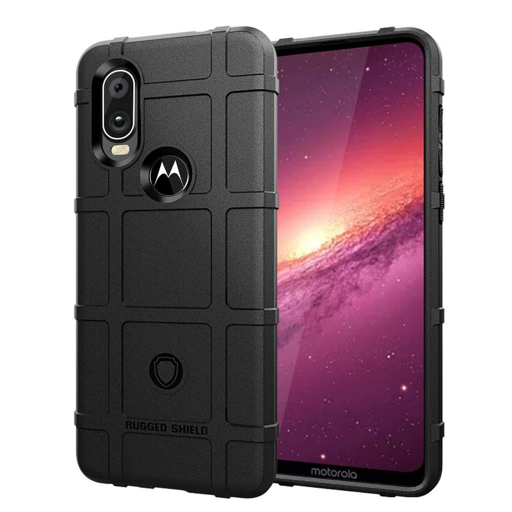 Conelz For Motorola One Vision Case TPU Case Cover Shockproof Amor Case Rugged Shiled Case
