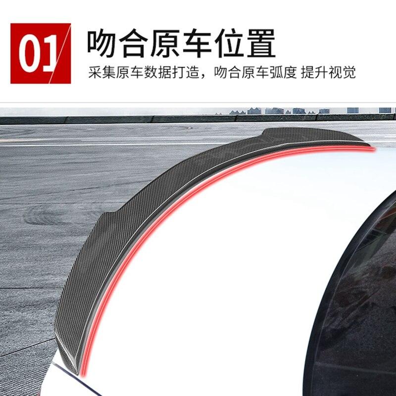メルセデスベンツ W205 カーボンファイバースポイラー 4 ドアセダン FD スタイル C180 C200 C260 尾翼ため w205  グループ上の 自動車 &バイク からの スポイラー & ウィング の中 2