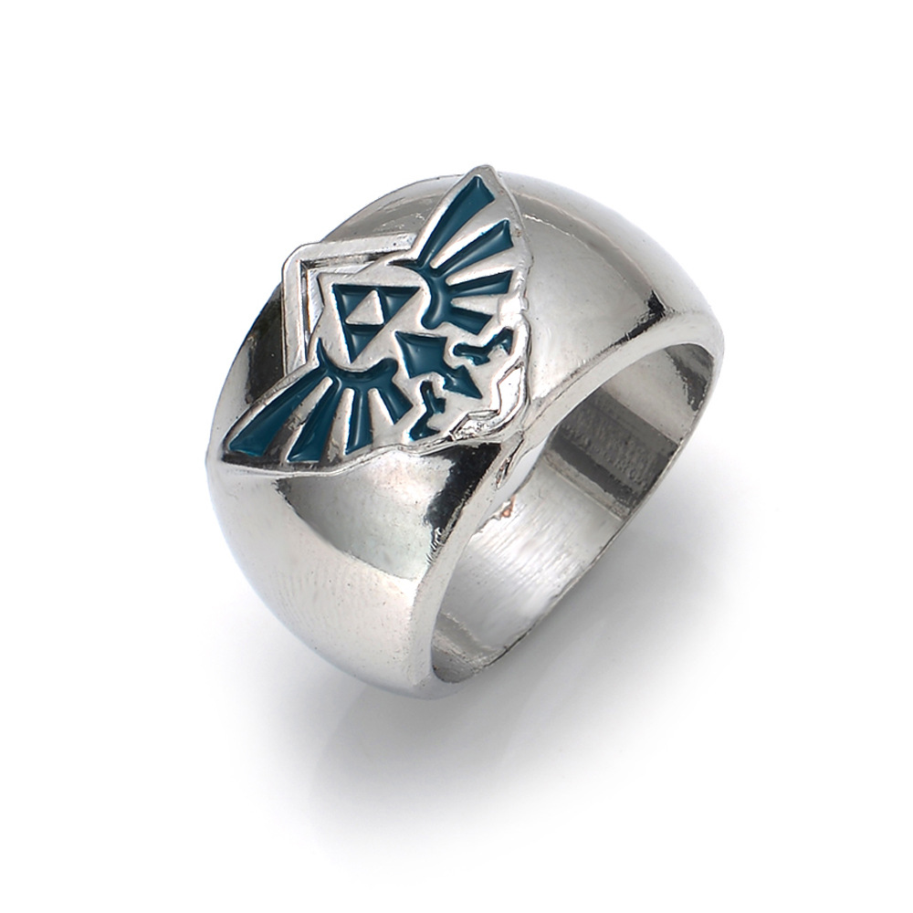 2 Styles Game The Legend Of Zelda Rings For Women Men Jewelry Anel(china (