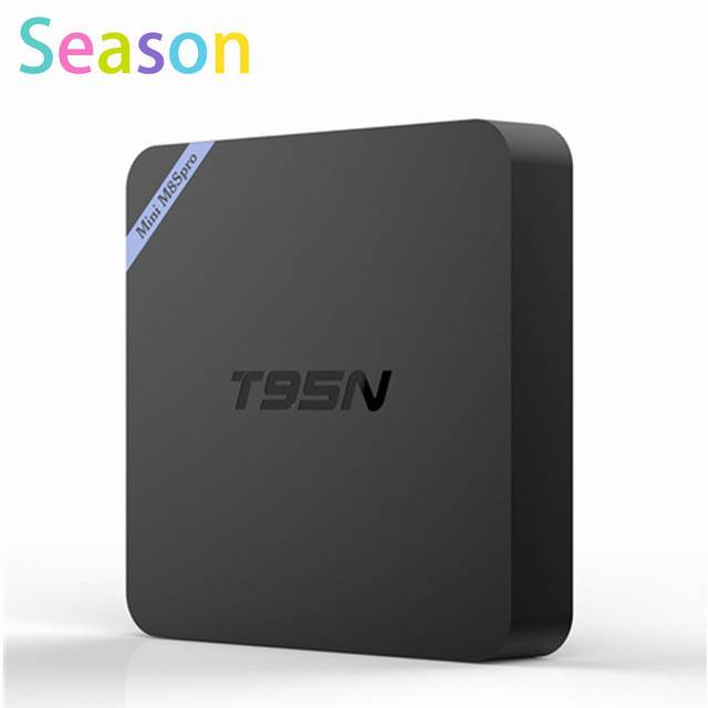 New T95N Mini M8S pro Android 6.0 TV BOX Amlogic S905X quad-core cortex-A53 2G/8G KODI 16.0 Smart Android Tv box