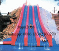 factory price giant customized inflatable slide /inflatable fun game large water park slide for kids and adults
