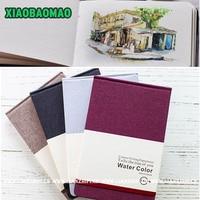A5 Artist Watercolor Paper Acid Free Non Fading Erase Resistance Sketch Book Notebook Notepad SketchBook