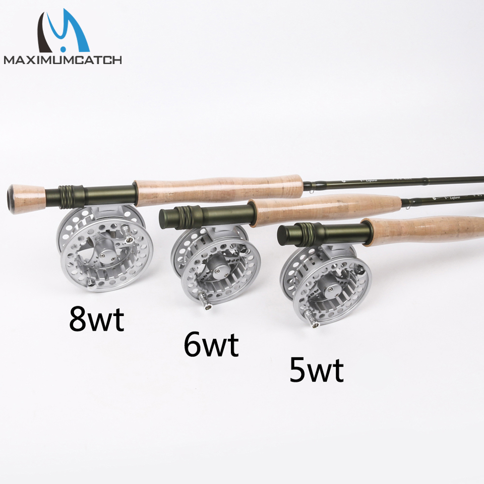Maximumcatch Fly Fishing Rod & Fly Reel Combo 9FT 5wt/6wt/8wt Fast Action Superfine Carbon Fiber Fly Rod maximumcatch fly fishing rod combo 9ft fly rod