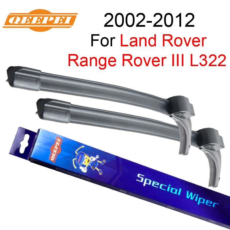 QEEPEI Wiper Blade For LAND ROVER Range Rover 3 L322 2002-2012 26+26 Car Accessories Rubber Windshield Windscreen Wiper