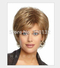 European wig American Models Blonde Fluffy Short Boby peruvian brazilian  Straight hair wigs products Dyed Burmese silk  (D Spec