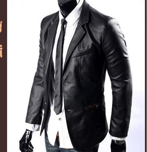 Online Get Cheap Brown Leather Suit Jacket -Aliexpress.com