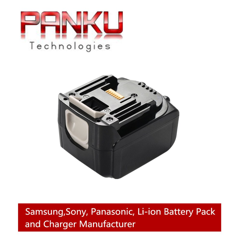 PANKU 14.4V 5000mAh High Capacity no Memory Effect Li-ion Rechargeable Battery Drills Replacement battery for MAKITA BL1430 panku 14 4v 3 0ah replacement battery for bosch bat038 bat040 bat041 bat140 bat159 bat041 2607335534 35614 13614 3660k 3660ck