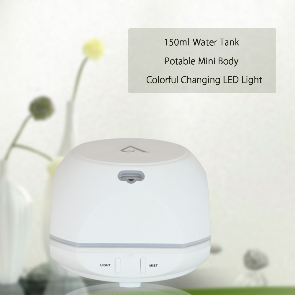 USB Aroma Essential Oil Diffuser Ultrasonic Cool Mist Humidifier Air - Perkakas rumah - Foto 3