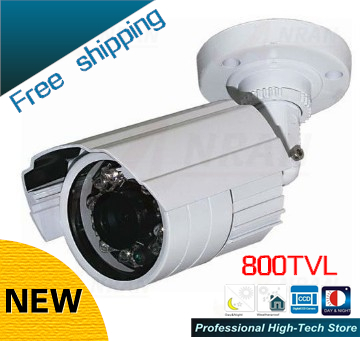 Freeship W9-DZJX-800 CCTV 800TVL Sony CCD 24 Array IR LEDs CCTV Camera outdoor video surveillance waterproof Security camera inventory clean up economy lower illumination surveillance system sony ccd 800tvl board for cctv camera