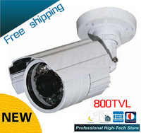 Freeship W9 DZJX 800 CCTV 800TVL Sony CCD 24 Array IR LEDs CCTV Camera Outdoor Video