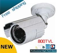 Freeship W9 DZJX 800 CCTV 800TVL Sony CCD 24 Array IR LEDs CCTV Camera Outdoor Video