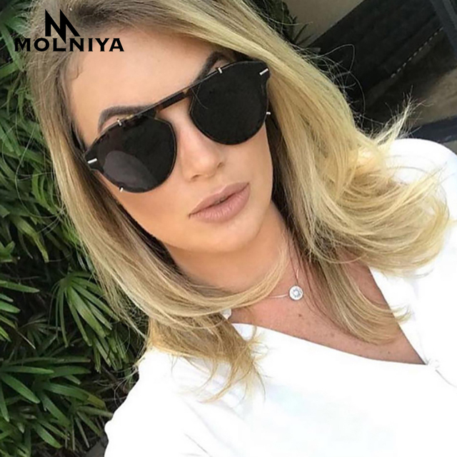 3346db6a16128 Retro Male Round Sunglasses Women Men Brand Designer Sun Glasses for Women  Alloy Mirror Sunglasses Oculos