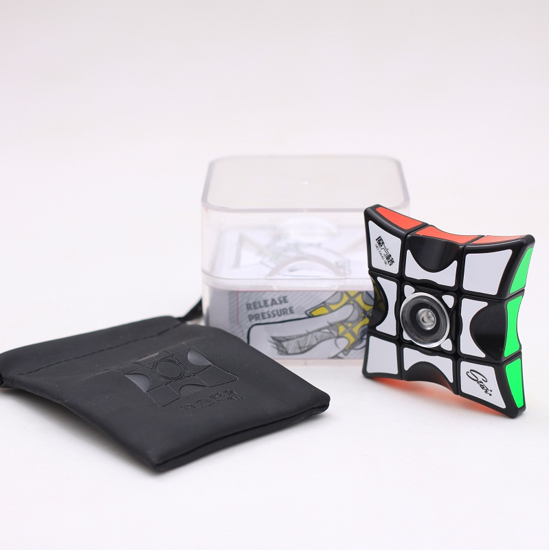 New QiYi Mofangge Spinner Cube Educational Learning Toys For Children Adult 1x3x3 Speed Magic Puzzle Fingertip Magic Cube Games