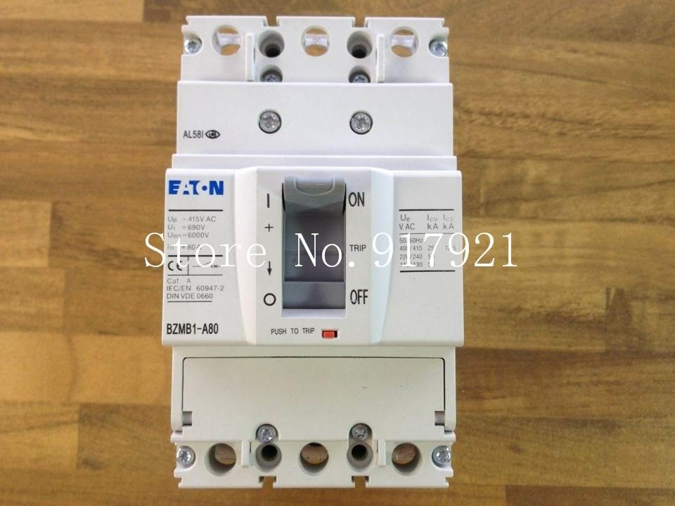 [ZOB] Muller MOELLER Eaton BZMB1-A80 breaker 3P80A genuine original