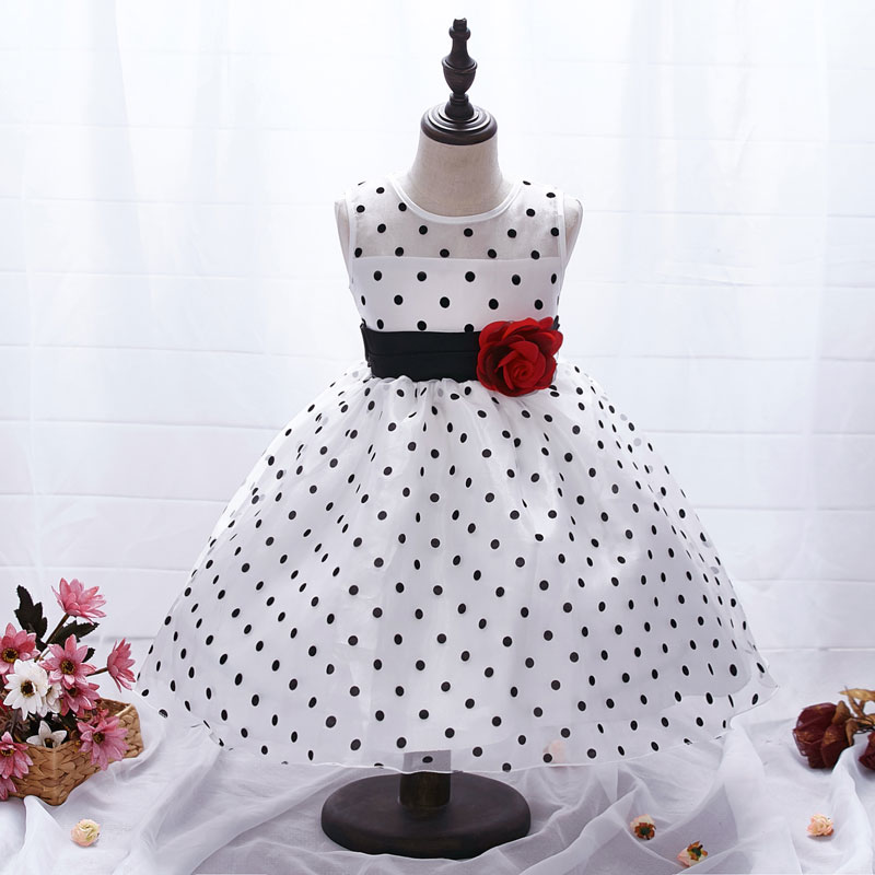 AiLe Rabbit New Arrival  Princess Summer Girl Dress Classic White - Children's Clothing - Photo 2