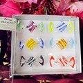 Пользовательские дома Свадебные украшения  аксессуары ручной работы муранского стекла конфеты модель орнамент безопасности детей игрушка...