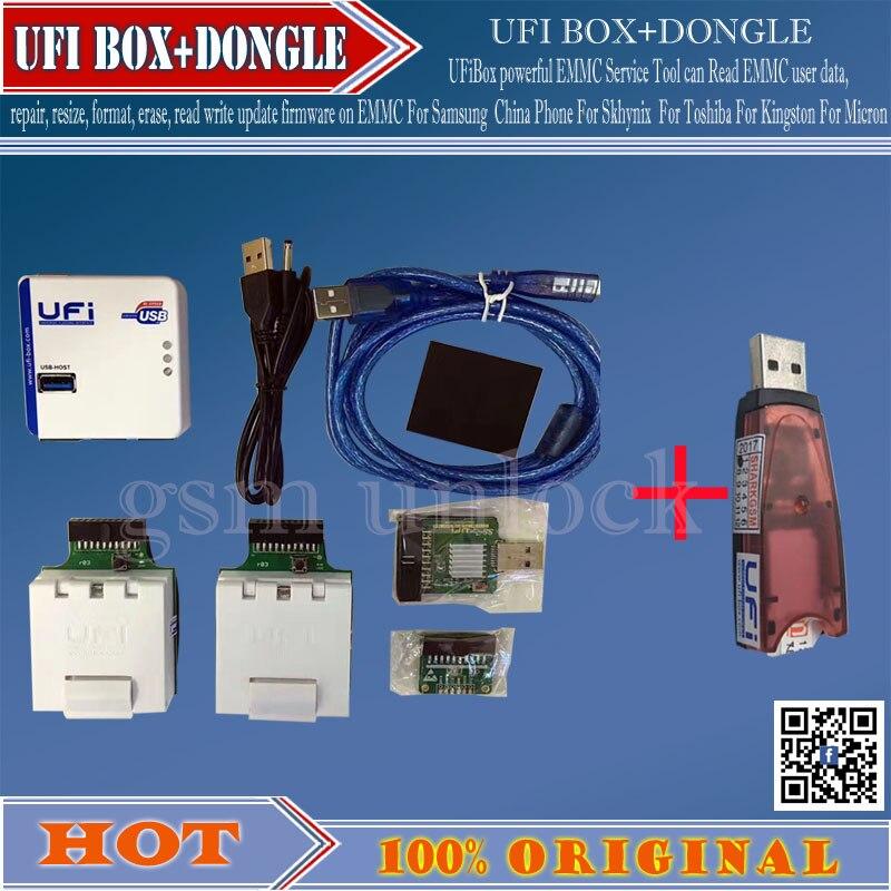 gsmjustoncct 2020 Newest 100% ORIGINAL UFI BOX powerful EMMC Service Tool DONGLE