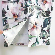 High Waist Floral Summer Pencil Skirt
