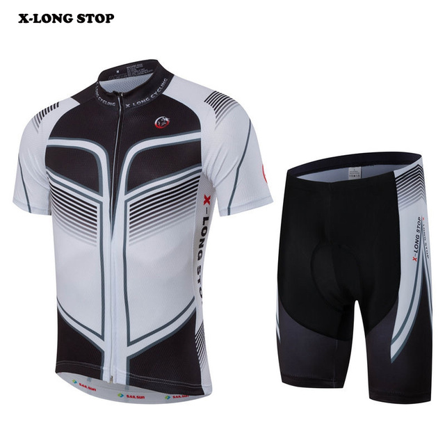 Men's outwear sets Team Jersey Bib Shorts Ropa Ciclismo Clothing Summer Short Sleeve Top
