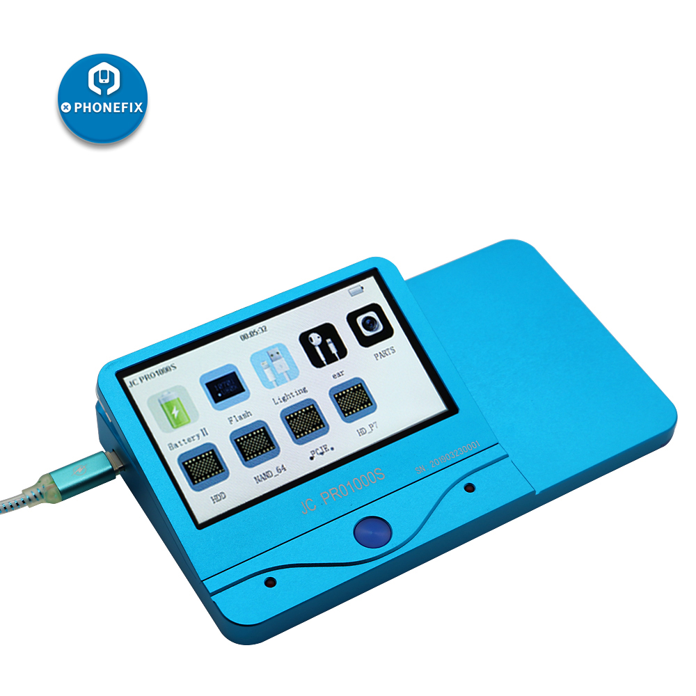 Image 3 - Phonefix novo original jc pro1000s host multi funcional programador nand pcie para iphone ipad bateria ferramentas de testeConj. ferramentas elétricas   -