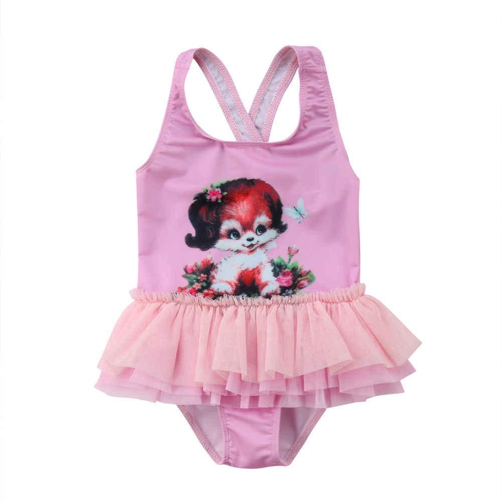 76ec7a25f7 ... Kid Baby Girl Tulle Tutu Dress Skirt one piece Swimwear Swimsuit  Bathing Suit Beachwear boysuit bikini ...