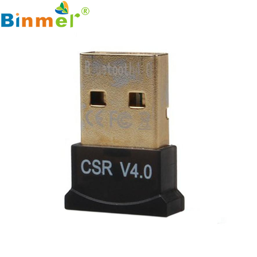 Hábil Mini USB Bluetooth V4.0 Modo Dual Wireless Dongle Adaptador Para El Ordena