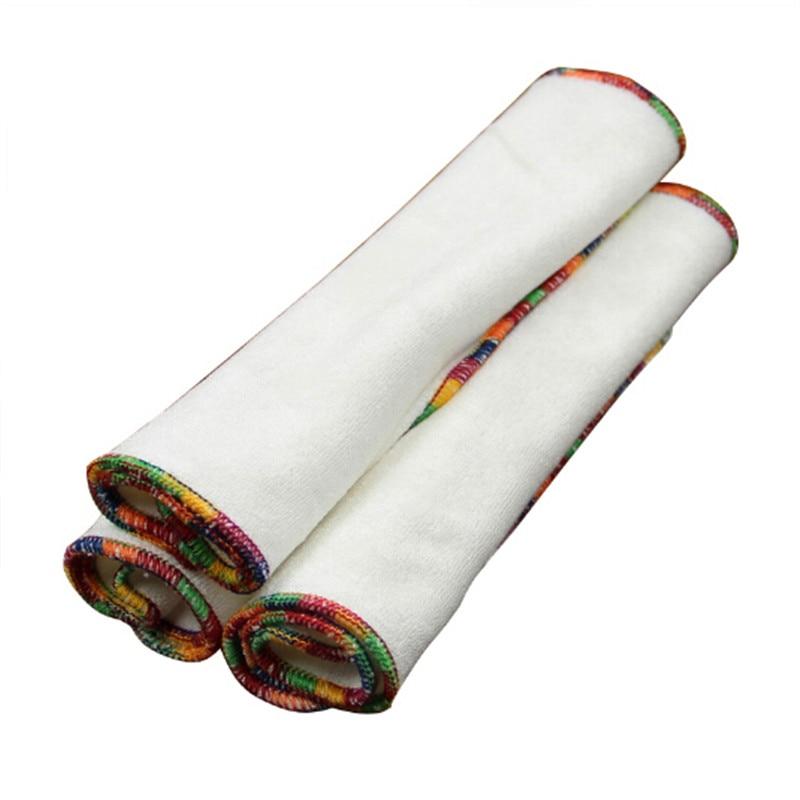 Fibra De Bambu Do Bebê Toalhetes Reutilizáveis