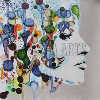 Wholesale High Quality Handmade Artworks Modern Abstract Wall Art