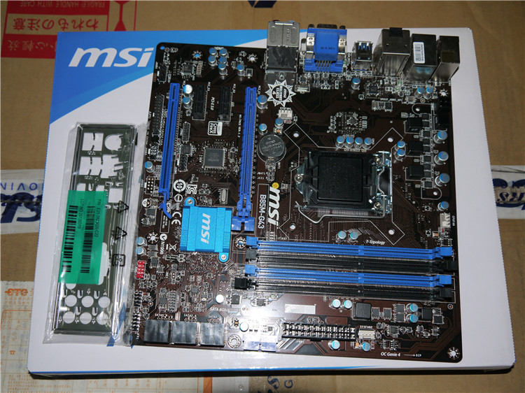 MSI B85M-G43 1150 B85 motherboard supports E3 1230 V3 4570 msi original zh77a g43 motherboard ddr3 lga 1155 for i3 i5 i7 cpu 32gb usb3 0 sata3 h77 motherboard