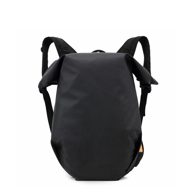 2019 décontracté hommes Polyester sac à dos Style Preppy grande capacité baril sac à dos armée vert/noir sac à dos pour hommes de haute qualité