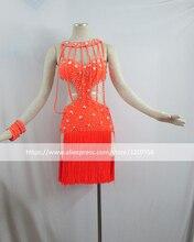 Latin Dance Dress Women Girls Dress For Dance Competition Dress For Dancing Roupa De Ginastica Vestido