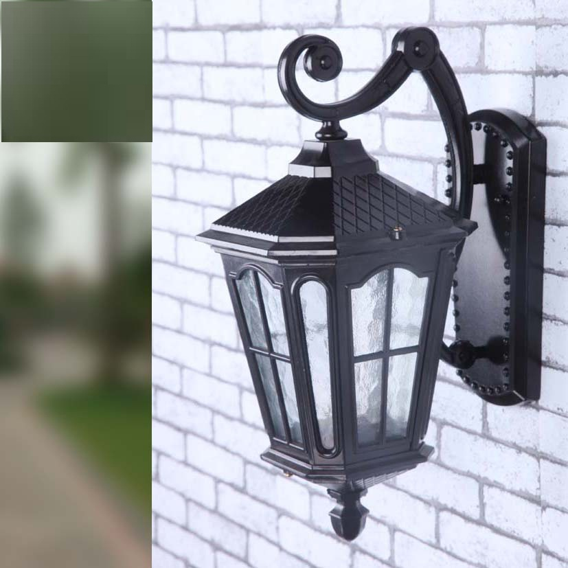 European LED lamp Aluminum Wall Light Outdoor Wall Sconce ...
