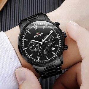Image 5 - SWISH montre à Quartz pour hommes, mode Sport, marque de luxe, étanche, 2020