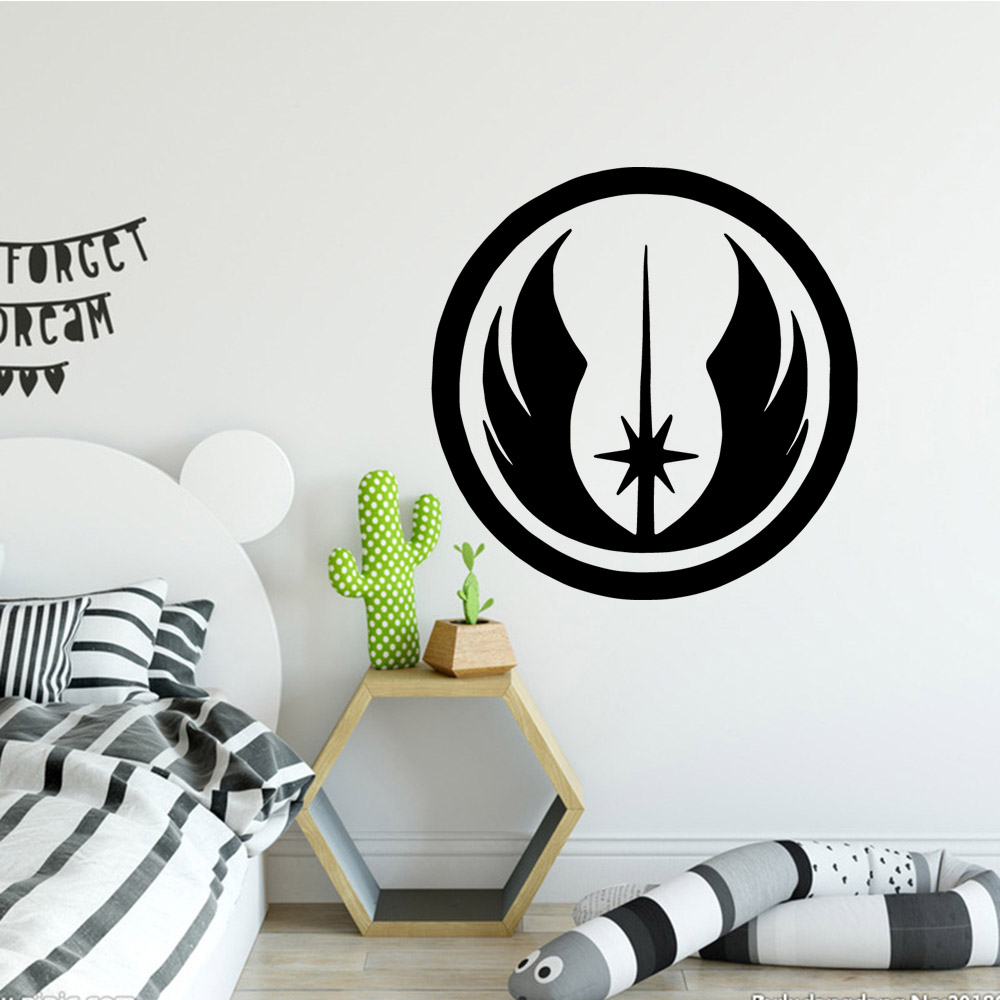 Star Wars Wall Sticker Vinyl Wall Art Stickers Modern Fashion Wallsticker For Home Decor Living Room Bedroom Decal Mural in Wall Stickers from Home Garden