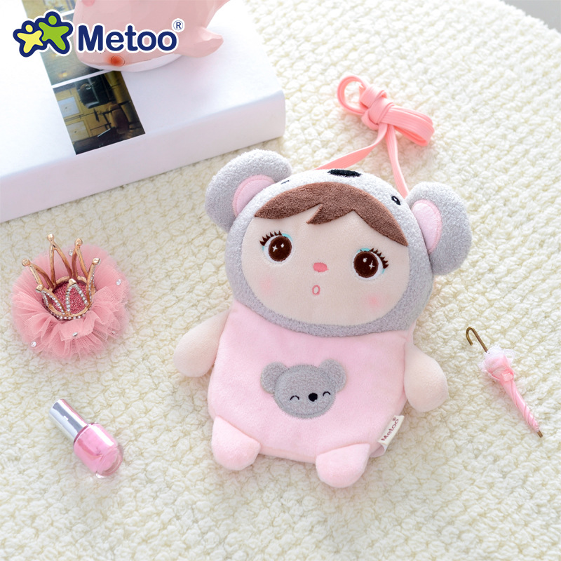 18cm Koala Crossbody Bag Coin Purse Metoo Doll Stuffed Toys Plush Animals Kids Toys For Girls Children Boys Baby Plush Soft Toys