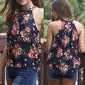 Mulheres da moda Colete de Verão Top Sem Mangas Tanque Casual Tops Batik estilo Chinês strapless Camisoles