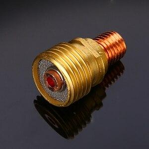 Image 5 - 7 개/대 #12 pyrex 유리 컵 키트 stubby collets 바디 가스 렌즈 tig 용접 토치 WP 9/20/25 mayitr 용접 액세서리