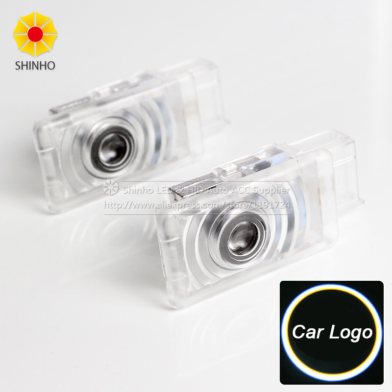 2pcs/lot Car Courtesy ghost shadow welcome Laser logo projector door light For BUICK LaCrosse