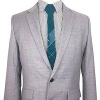 Dark Green Plaid Fashion Floral Necktie Slim 5cm Glossy Silk Feel Metallic Acrylic Formal Bow Tie Men Wedding Luxury Gift