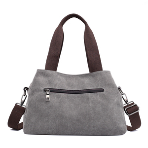 Image 3 - Çanta kadın çantası kanvas çanta kadınlar için 2019 büyük Tote bayan çanta bayan tasarımcı omuz askılı postacı çantaları kadın Crossbody çanta