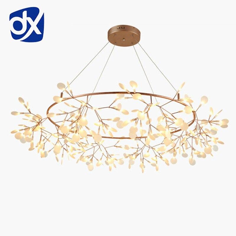 Art créatif Designer Lustre Lumières Arbre Feuille Vintage D80cm LED Lampes Luminaires Par Bertjan Pot Suspension Lampe Éclairage À La Maison